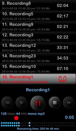 Dictaphone App