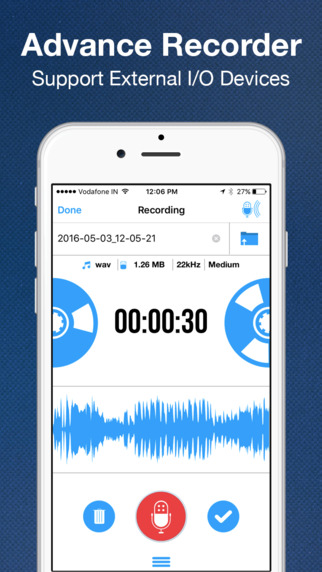 Recordium App